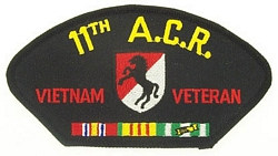 11th ACR Vietnam Veteran Patches
